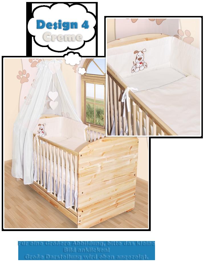 baby bettw sche himmel nestchen bettset mit stickerei 100x135 prinz princess neu. Black Bedroom Furniture Sets. Home Design Ideas