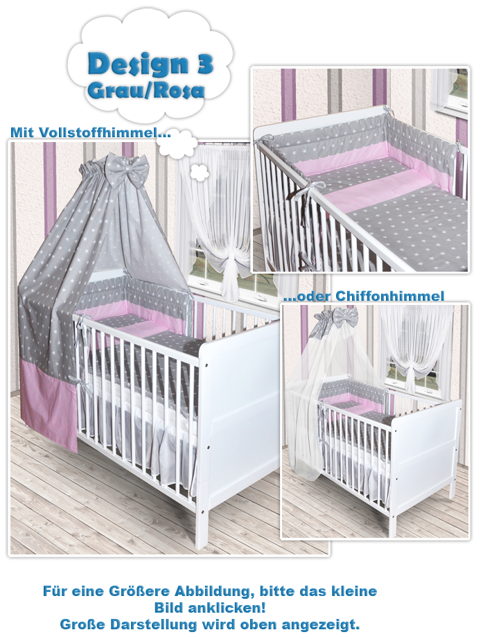 baby bettwsche set mit himmel top full size of bettwasche baby grun ba bettwsche tlg xcm my zoo. Black Bedroom Furniture Sets. Home Design Ideas