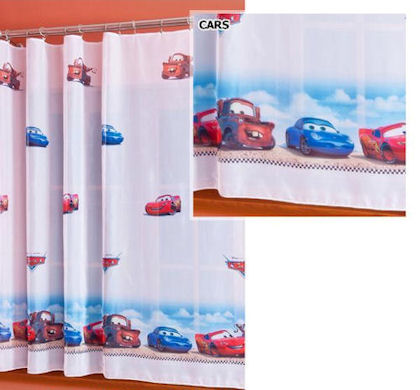 Kinderzimmer gardine auto cars disney autos l150cm neu top - Kinderzimmer cars ...