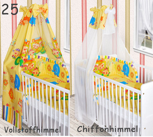 himmel vollstoff chiffon f r baby bett chiffonhimmel. Black Bedroom Furniture Sets. Home Design Ideas