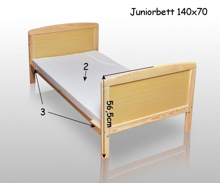 babybett kinderbett juniorbett 140x70 bettw sche bettset komplett kissen neu ebay. Black Bedroom Furniture Sets. Home Design Ideas