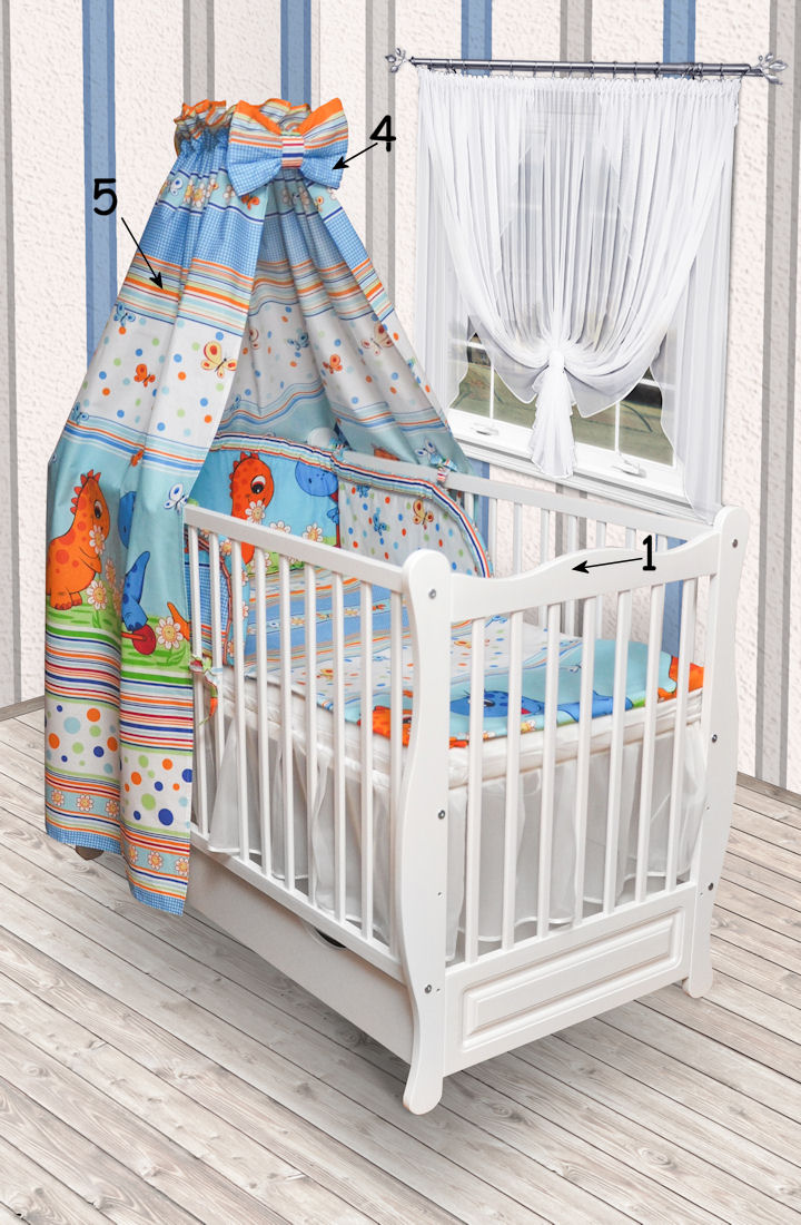 babybett kinderbett wei bettw sche bettset komplett neu matratze mit schublade ebay. Black Bedroom Furniture Sets. Home Design Ideas
