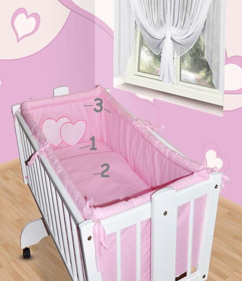 bettset f r babywiege schaukelwiege ohne wiege mit. Black Bedroom Furniture Sets. Home Design Ideas
