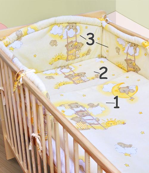 bettset himmelstange himmel nestchen babybettw sche f r. Black Bedroom Furniture Sets. Home Design Ideas