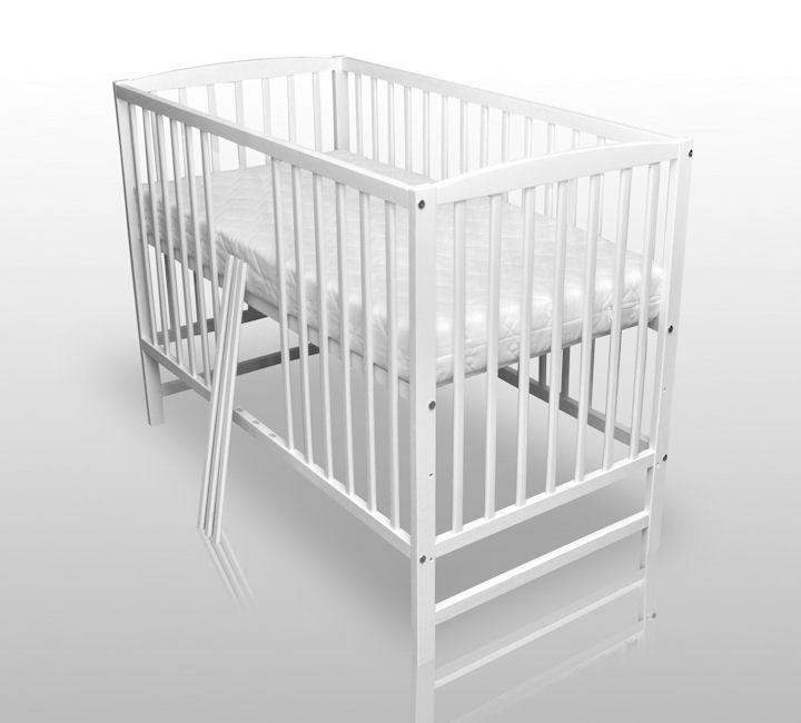 babybett kinderbett wei bettw sche bettset komplett neu matratze himmel ebay. Black Bedroom Furniture Sets. Home Design Ideas