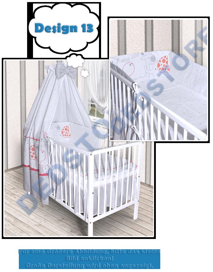 baby bettw sche himmel nestchen bettset 100x135cm f r. Black Bedroom Furniture Sets. Home Design Ideas